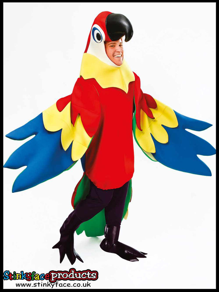 Parrot Deluxe Fancy Dress Costume