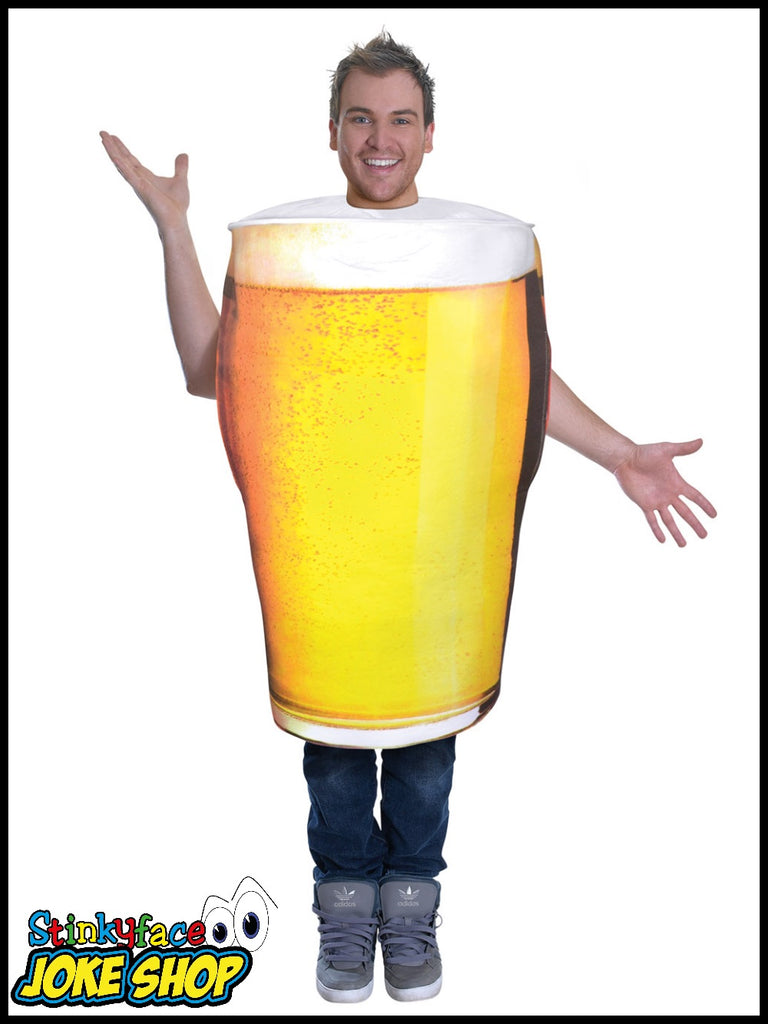 Pint of Beer Fancy Dress Adult Costume