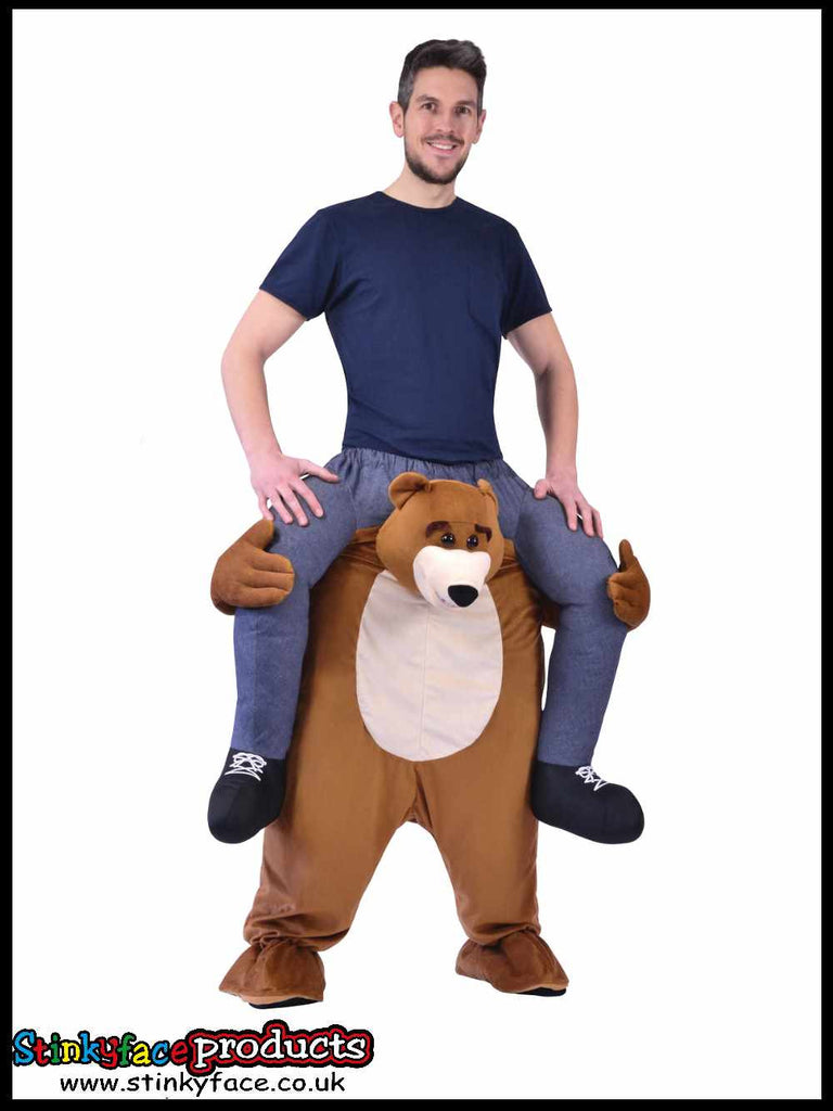 Piggy Back Bear Fancy Dress Costume