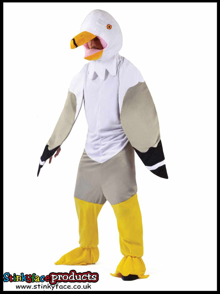 Seagull Costume Big Head Fancy Dress Costume