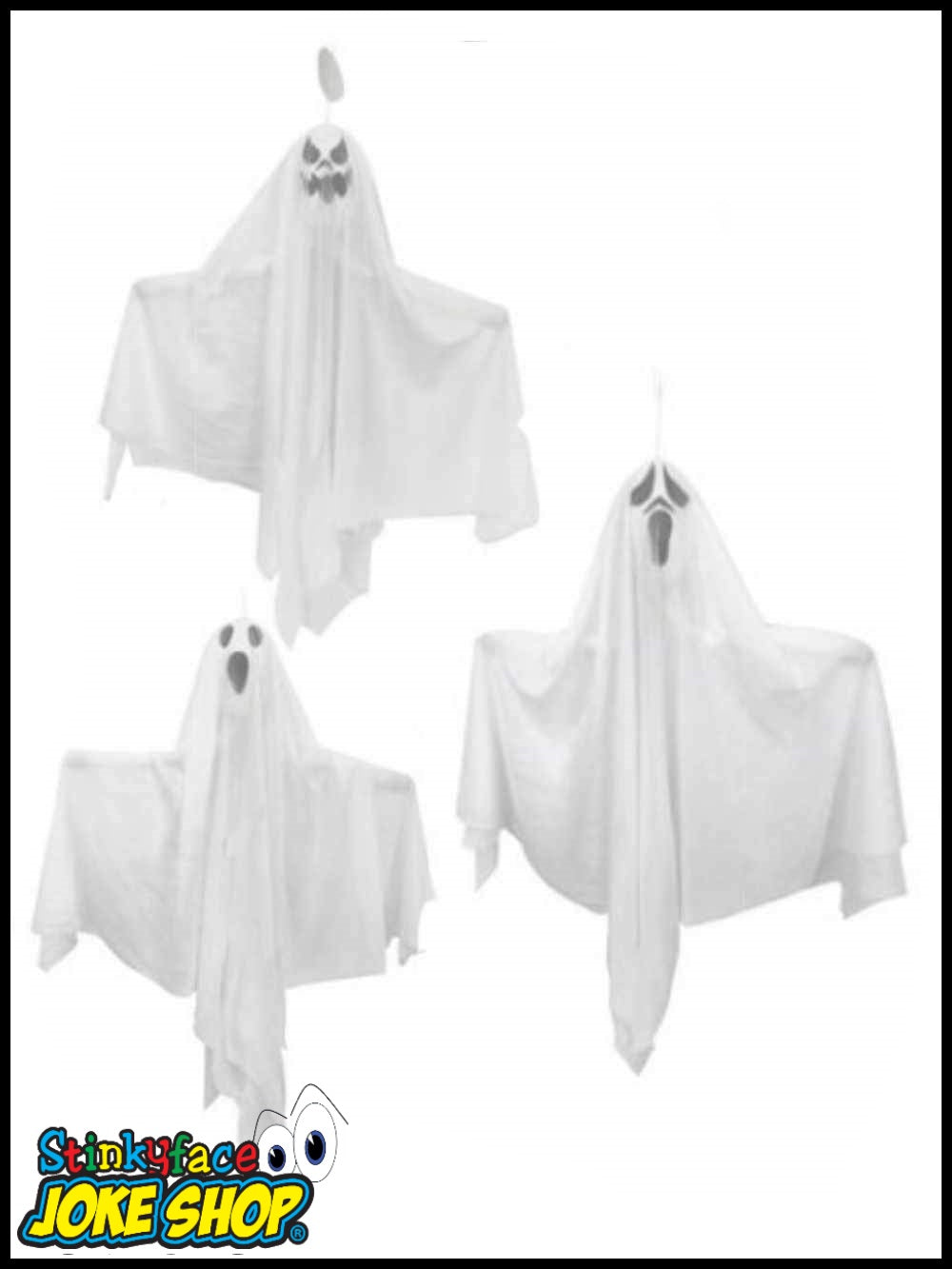 Asssorted Hanging Ghosts