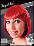Red Passion Elegant Bob Wig