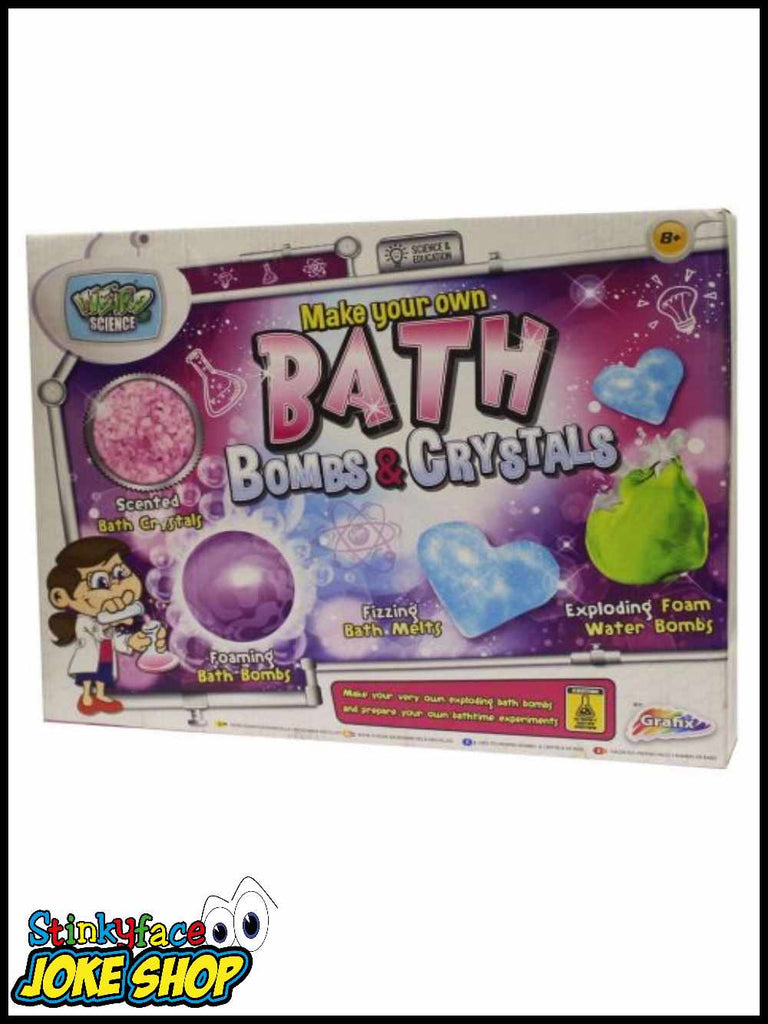 Bath Bomb & Crystals Gift Set