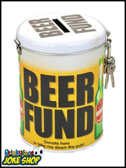 Beer Fund Saver Tin