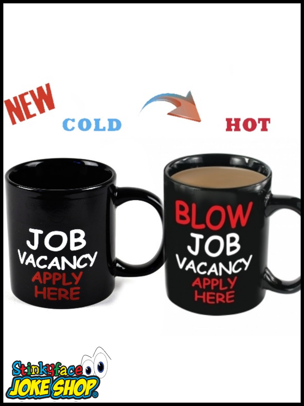 Blow Job Vacancy - Heat Revealing Mug