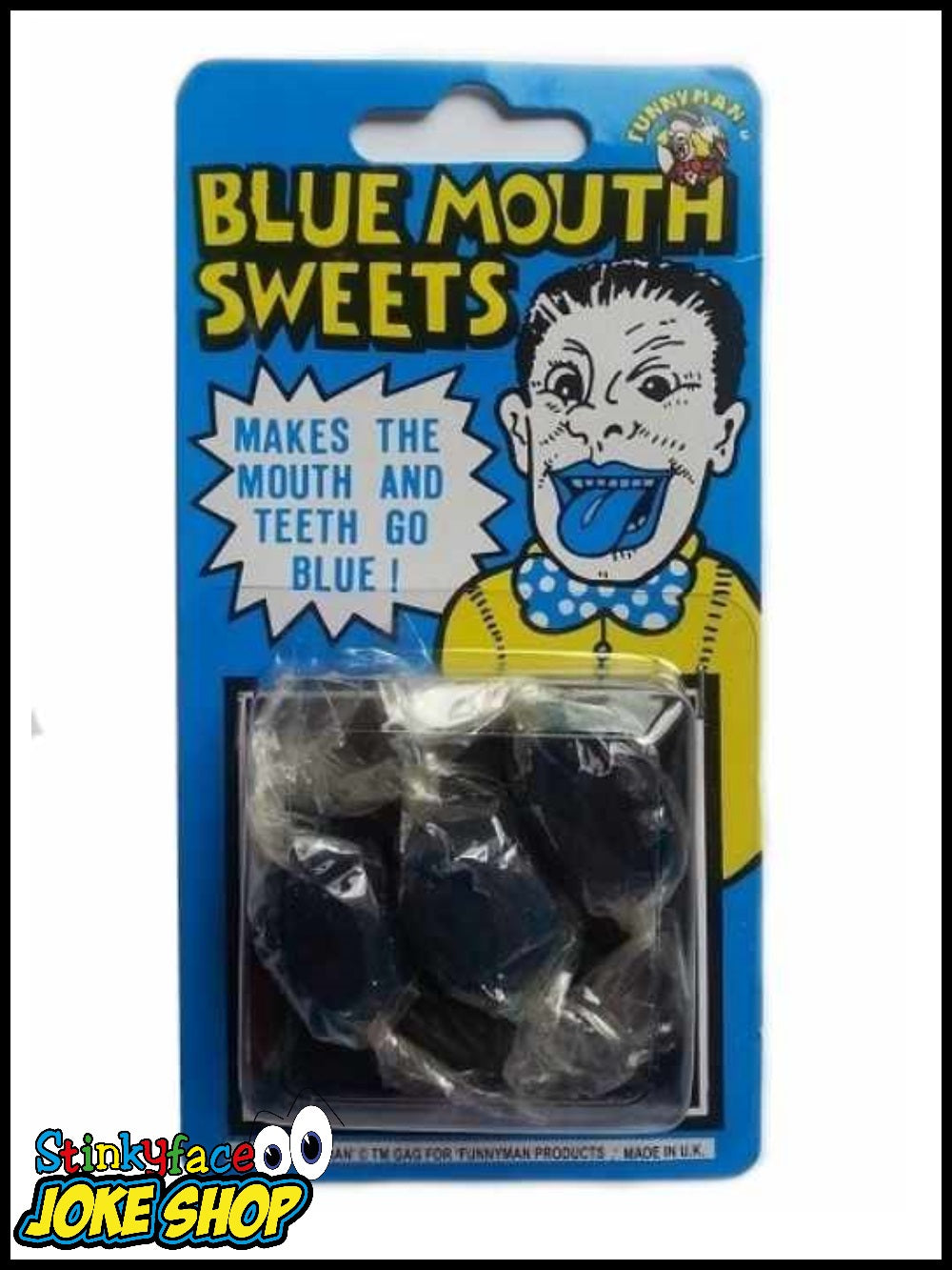 Joke Sweets - Blue Mouth Sweets