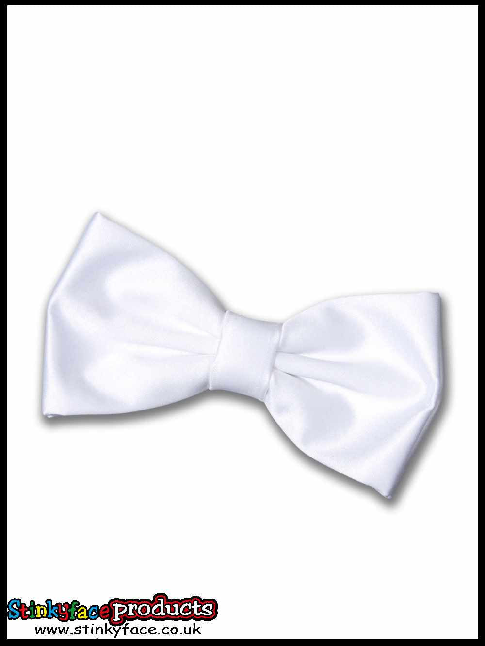 Small White Bow Tie