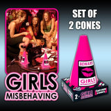 Girls Caution Cones