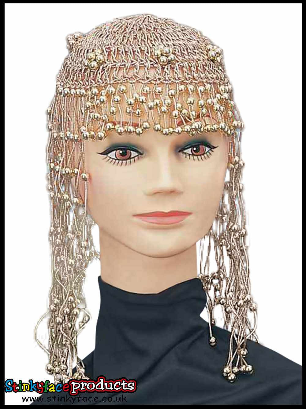 Cleopatra Beaded Egyptian Headpiece