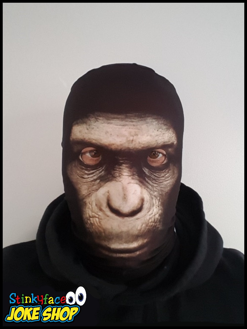 Creepy Monkey Face Mask