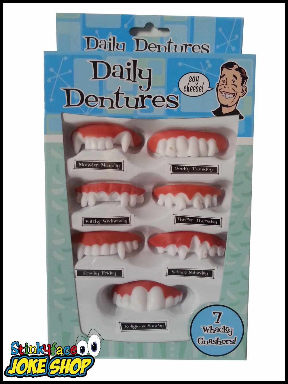 Funny Teeth (Pack 7)