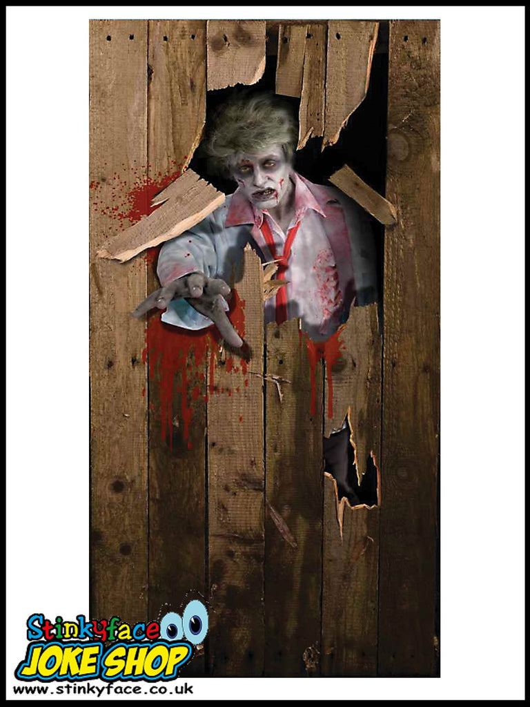 Halloween Door Poster - Zombie