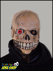 Evil Red Eye Skull Face Mask