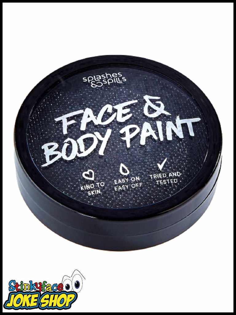 Face & Body Cake Paint Black 18g