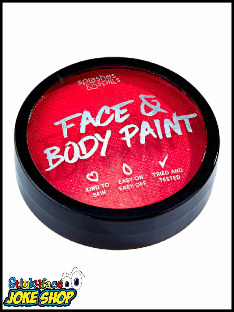 Face & Body Cake Paint Red 18g