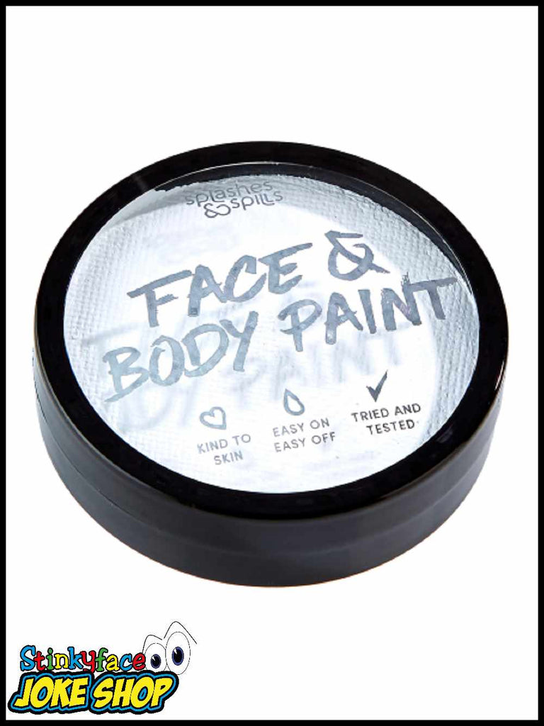 Face & Body Cake Paint White 18g