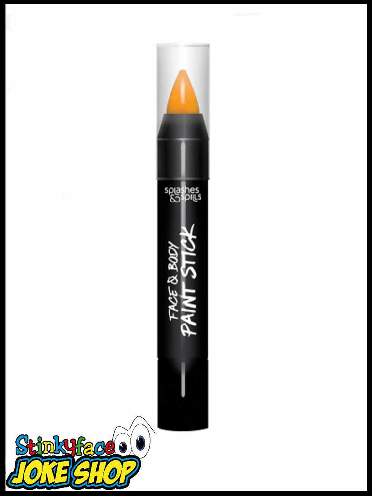 Face & Body Paint Stick - Orange