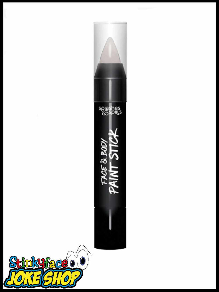 Face & Body Paint Stick - White