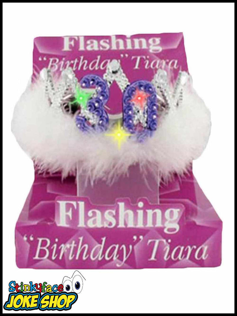 30th Birthday Flashing Tiara