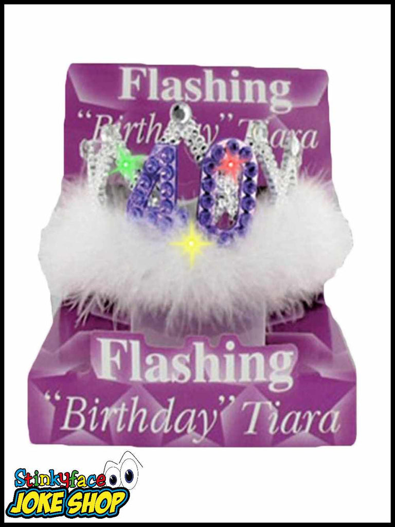 40th Birthday Flashing Tiara