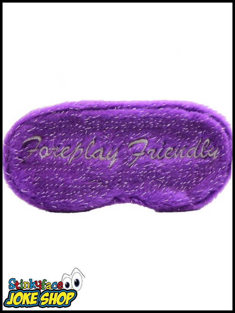 Foreplay Friendly Eye Mask