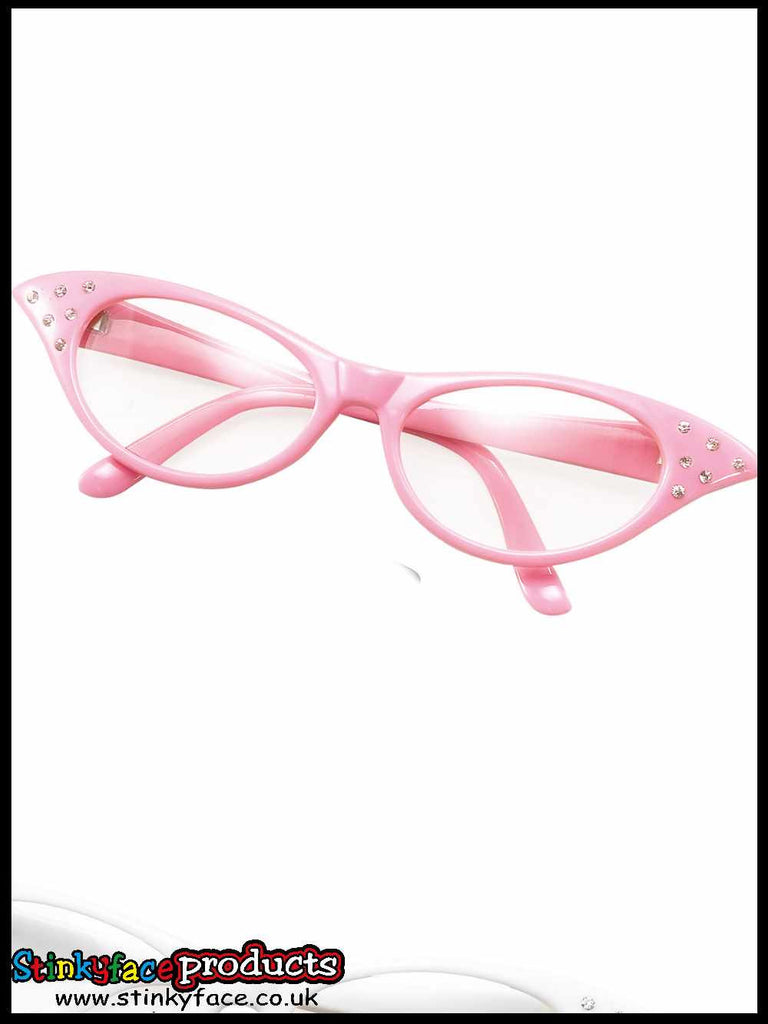 Glasses - 50's Female Style Pink