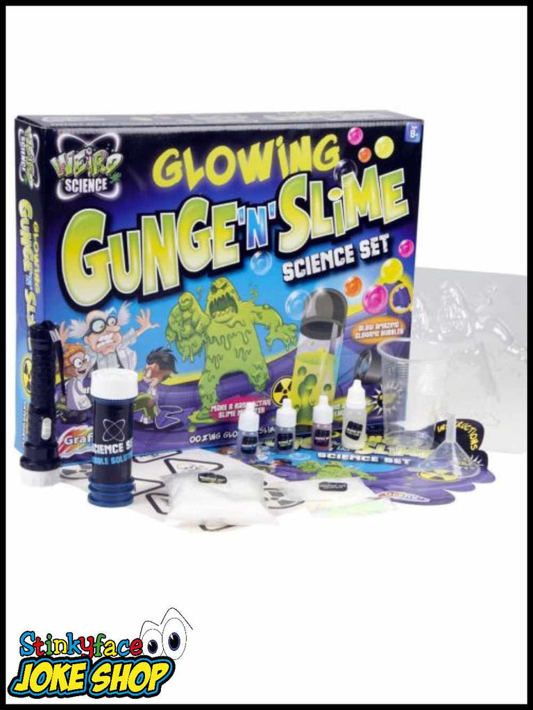 Glowing Gunge 'n' Slime Science Set