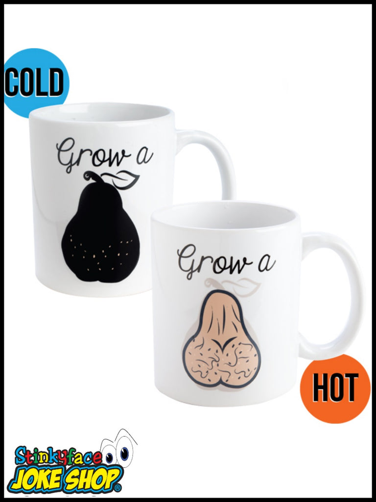 Grow a Pair Heat changing Mug