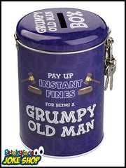 Grumpy Old Man - Fine Tin