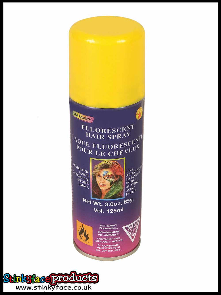 Yellow Hairspray 125ml