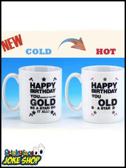 Happy Birthday - Heat Revealing Mug