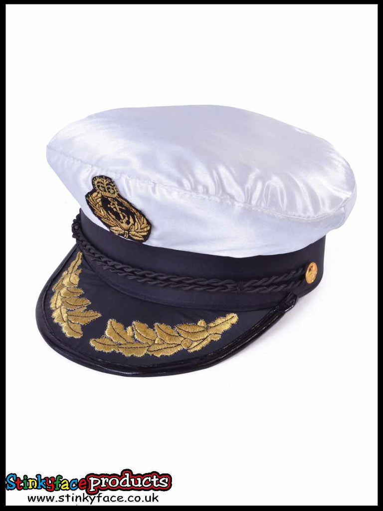 Captain Sailor Cap (Deluxe)