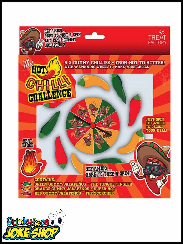 Hot Chilli Challenge Game