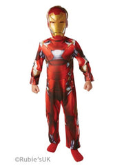 Iron Man Kids Classic Fancy Dress Costume