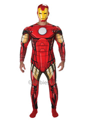 Iron Man Deluxe Fancy Dress Costume