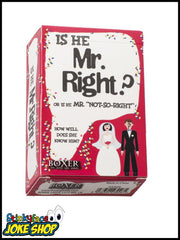 Is he Mr. Right? Card Game