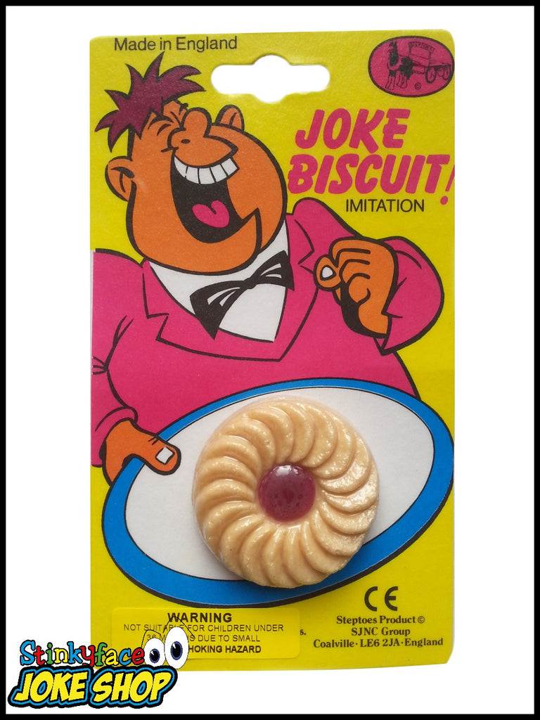 Fake Biscuit - Jammy Dodger