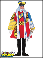 King Of Hearts Fancy Dress Costume