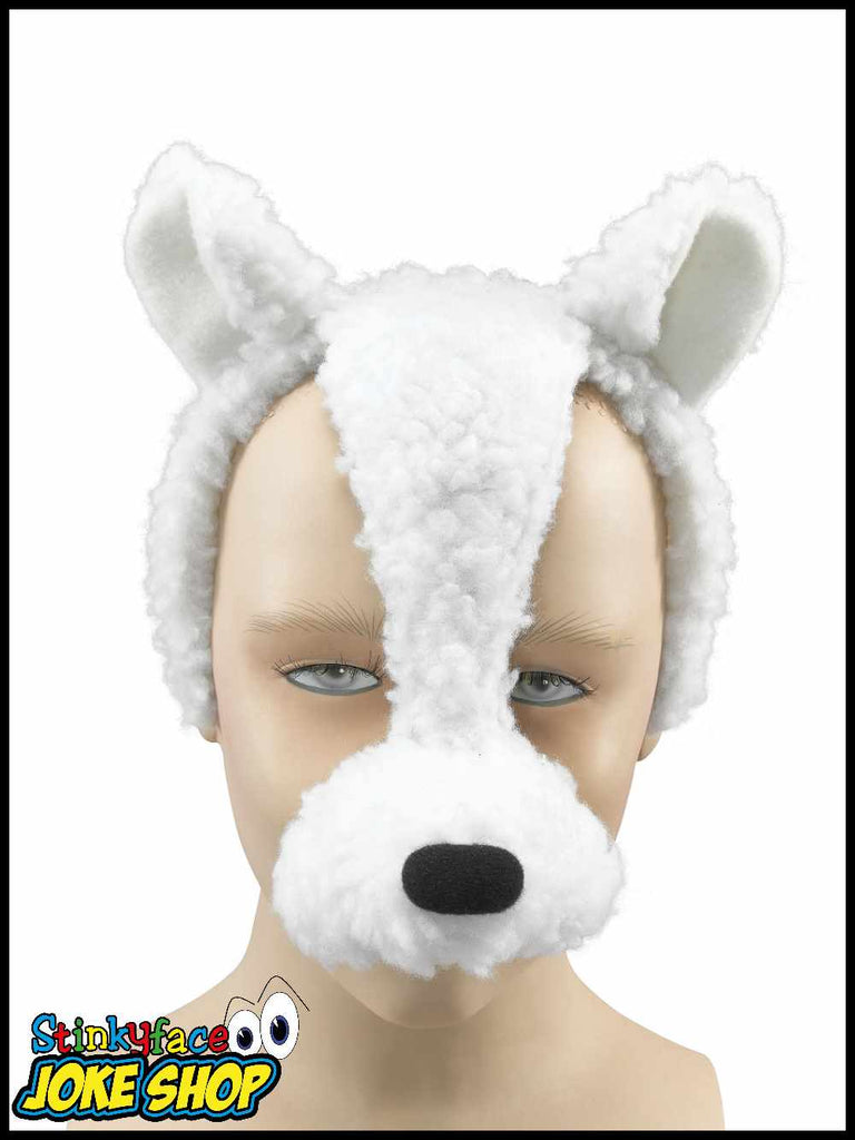 Lamb Sheep Animal Mask Headpiece with Sound