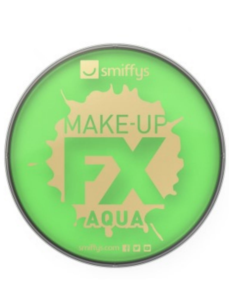 Smiffy's Face Paint- Lime Green 16ml Tub