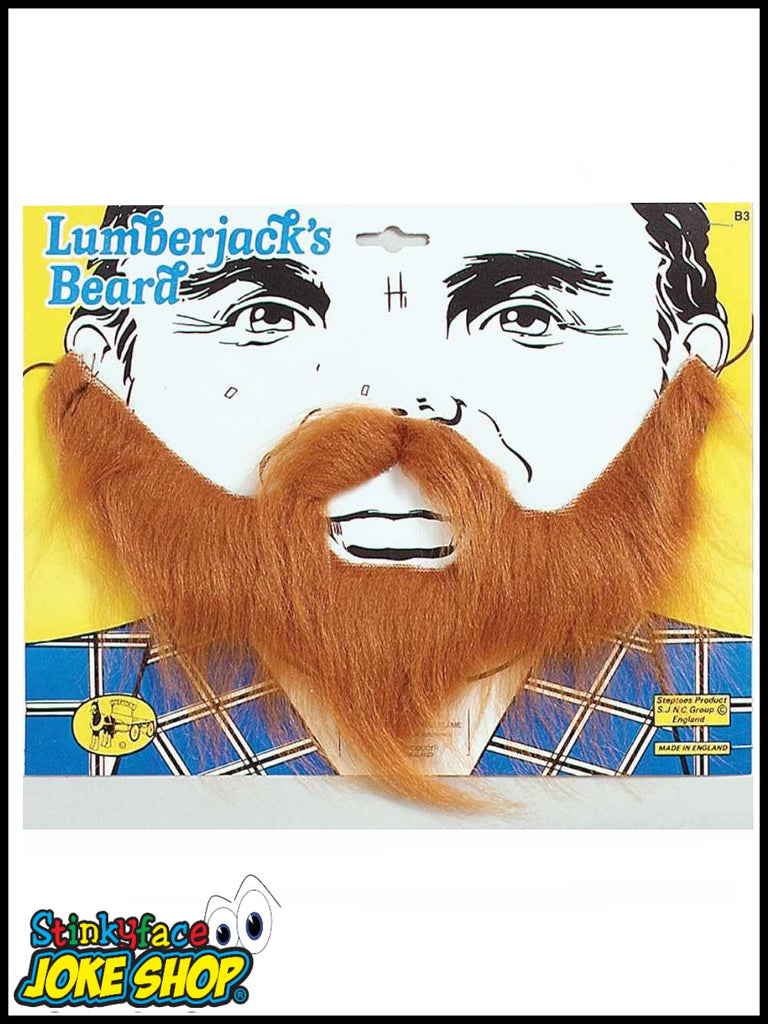 Lumberjack Brown Beard