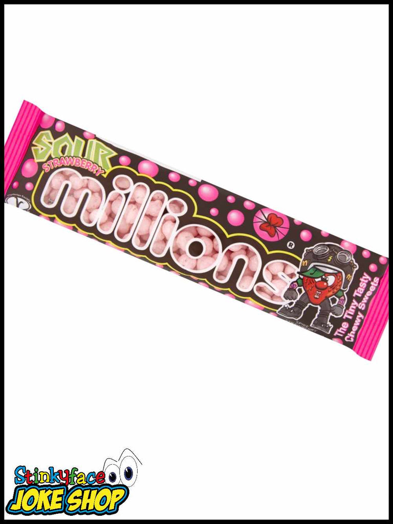 MILLIONS Sour Strawberry TUBE 40g