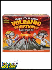 Make your own Volcanic Eruptions