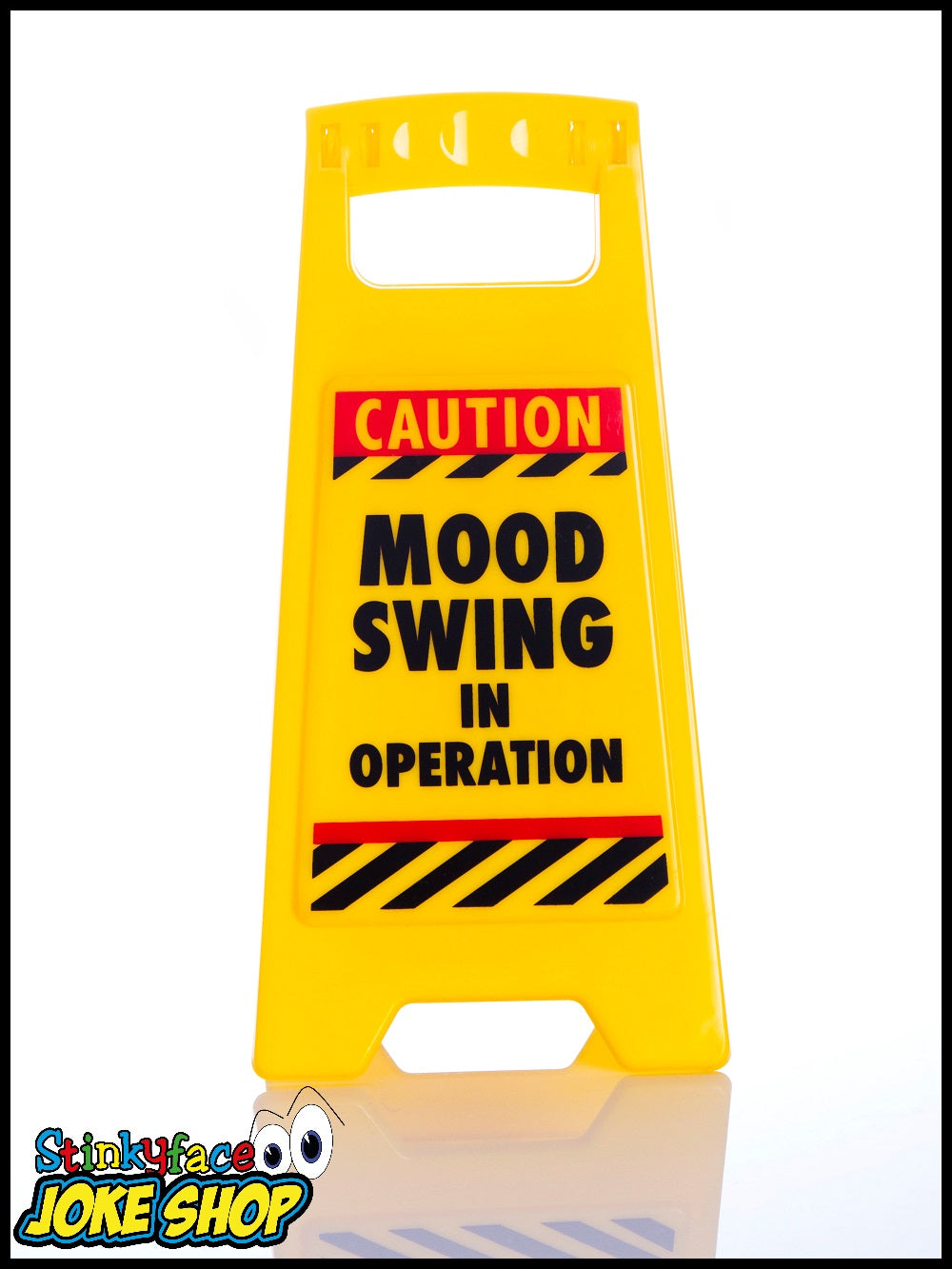 Desk Warnng Sign - Mood Swing