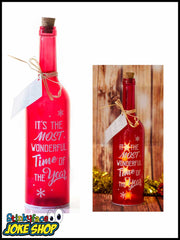 Most wonderful time of the year Starlight Bottle