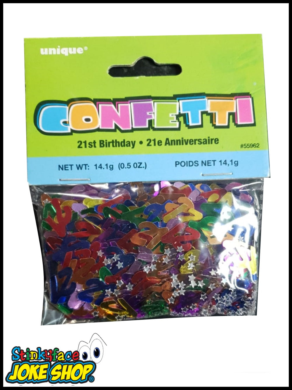 Aged 21 5oz Multi-coloured Confetti