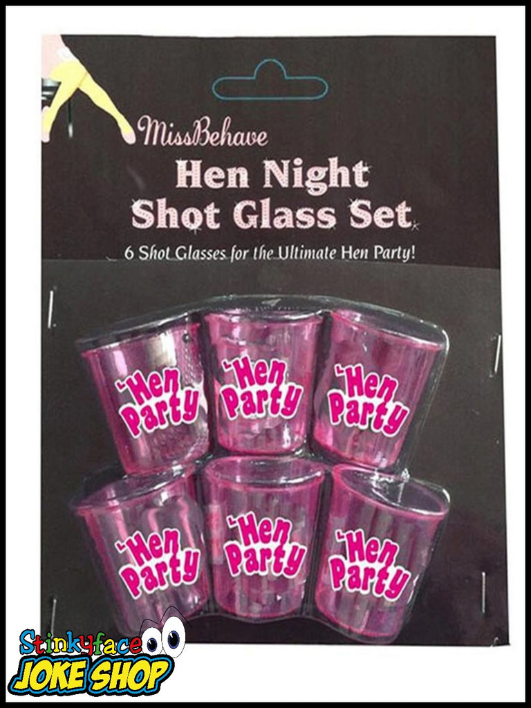 Pack of 6 Shot Drinking Cups