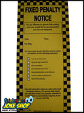 Pack of 3 Joke Parking Tickets