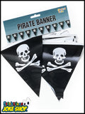 Pirate Bunting Banner Flags - (7 Metres)