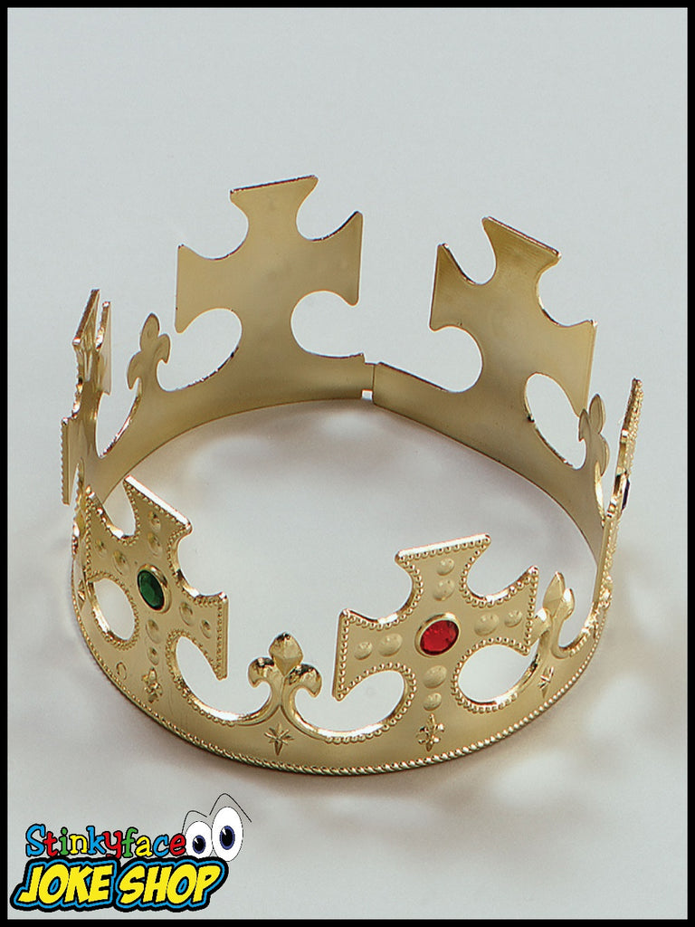 Plastic Gold Crown